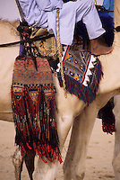 In-Gall, near Agadez, Niger - Tuareg Camel Blanket and Decorations