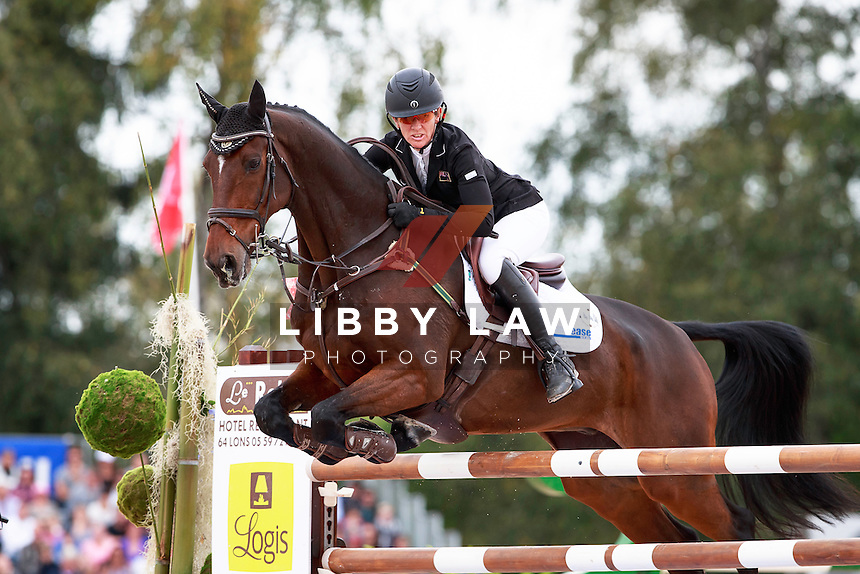 NZL-Caroline Powell rides Flying Finish during the CCI4* Showjumping at 2016 FRA-Les Etoiles de Pau CCI4*/CIC2* (Final-27TH). Sunday 16 October. Copyright Photo: Libby Law Photography