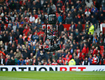 Spider cam during the English Premier League match at Old Trafford Stadium, Manchester. Picture date: April 16th 2017. Pic credit should read: Simon Bellis/Sportimage