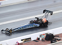 Oct 29, 2016; Las Vegas, NV, USA; NHRA top fuel driver Terry Haddock during qualifying for the Toyota Nationals at The Strip at Las Vegas Motor Speedway. Mandatory Credit: Mark J. Rebilas-USA TODAY Sports
