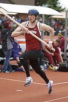 1 April 2006: Graeme Hoste during Stanford's Track & Field Invitational at Cobb Track & Angell Field in Stanford, CA.