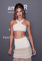 NEW YORK, NY - FEBRUARY 6: Grace Elizabeth arriving at the 21st annual amfAR Gala New York benefit for AIDS research during New York Fashion Week at Cipriani Wall Street in New York City on February 6, 2019. <br /> CAP/MPI99<br /> &copy;MPI99/Capital Pictures