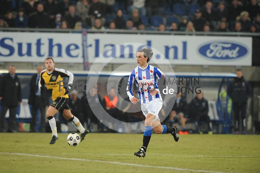 VOETBAL: SC HEERENVEEN: Abe Lenstra Stadion, 17-02-2012, SC-Heerenveen-NAC, Eredivisie, Eindstand 1-0, Geert Arend Roorda, ©foto: Martin de Jong