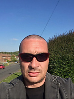 Pictured: Leon Jenkins, 43 of Cardiff, Wales, UK who committed suicide after joining insult internet chat room paltalk.
