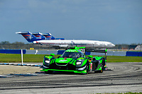IMSA WeatherTech SportsCar Championship<br /> Sebring February Test<br /> Sebring, Florida, USA<br /> Thursday 22 February 2018<br /> #22 Tequila Patron ESM Nissan DPi, P: Pipo Derani, Johannes van Overbeek, Nicolas Lapierre<br /> World Copyright: Richard Dole<br /> LAT Images