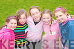 Taking a break during The Community Games in Ballybunion on Friday evening were Saoirse O'Carroll, Isobel O'Connor, Clodagh Mason and Tara O'Shea..   Copyright Kerry's Eye 2008