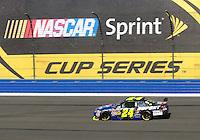 Oct. 11, 2009; Fontana, CA, USA; NASCAR Sprint Cup Series driver Jeff Gordon during the Pepsi 500 at Auto Club Speedway. Mandatory Credit: Mark J. Rebilas-