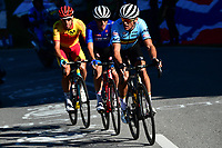 Picture by Alex Broadway/SWpix.com - 30/09/2018 - Cycling 2018 Road Cycling World Championships Innsbruck-Tirol, Austria - Men's Elite Road Race - Greg van Avermaet of Belgium, Damiano Caruso of Italy and Omar Fraile Matarranz of Spain.