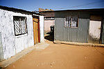 Informal shacks in Jabulani, one of the poorest neightbourhoods in Soweto. April 2009