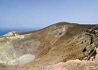ITA, Italien, Sizilien, Liparischen Inseln, Insel Vulcano: Krater Gran Cratere | ITA, Italy, Sicily, Aeolian Islands or Lipari Islands, Vulcano Island: crater Gran Cratere