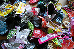 Easter candy wrappers assorted