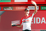Jelle Wallays (BEL) Lotto-Soudal wins Stage 17 of the La Vuelta 2018, running 186.1km from Ejea de los Caballeros to Lleida, Spain. 13th September 2018.                   <br /> Picture: Unipublic/Photogomezsport | Cyclefile<br /> <br /> <br /> All photos usage must carry mandatory copyright credit (&copy; Cyclefile | Unipublic/Photogomezsport)