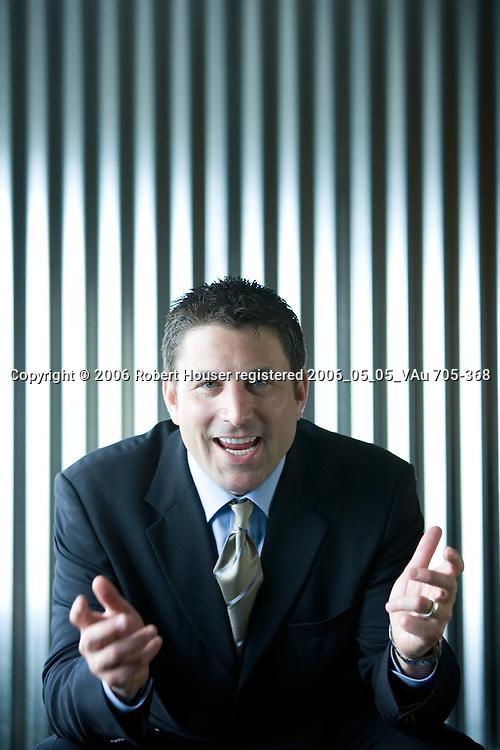 David Berman - VP Worldwide Sales - WebEx: Executive portrait photographs by San Francisco - corporate and annual report - photographer Robert Houser.