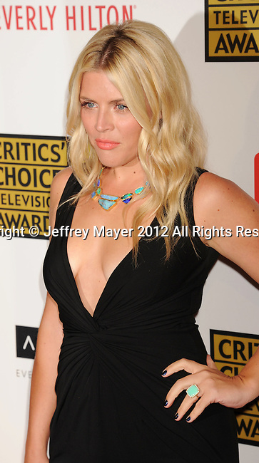 BEVERLY HILLS, CA - JUNE 18: Busy Philipps arrives at The Critics' Choice Television Awards at The Beverly Hilton Hotel on June 18, 2012 in Beverly Hills, California.