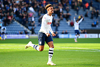 Preston North End's Callum Robinson celebrates scoring his side's second goal <br /> <br /> Photographer Richard Martin-Roberts/CameraSport<br /> <br /> The EFL Sky Bet Championship - Preston North End v Wigan Athletic - Saturday 6th October 2018 - Deepdale Stadium - Preston<br /> <br /> World Copyright &not;&copy; 2018 CameraSport. All rights reserved. 43 Linden Ave. Countesthorpe. Leicester. England. LE8 5PG - Tel: +44 (0) 116 277 4147 - admin@camerasport.com - www.camerasport.com