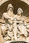 Albertinaplatz. Danubius-Brunnen (Danubius Fountain)