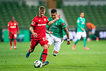 Daley Sinkgraven (Leverkusen #22), <br /> Davie Selke  (SV Werder Bremen #09)<br /> <br /> Sport: Fussball: 1. Bundesliga: Saison 19/20: <br /> 26. Spieltag: SV Werder Bremen vs Bayer 04 Leverkusen, 18.05.2020<br /> <br /> Foto ©  gumzmedia / Nordphoto / Andreas Gumz / POOL <br /> <br /> Nur für journalistische Zwecke! Only for editorial use!<br />  DFL regulations prohibit any use of photographs as image sequences and/or quasi-video.