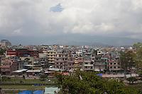 Cityscape of Kathmandu, Nepal