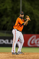 AZL Giants relief pitcher Joey Marciano (65) gets ready to deliver a pitch during a game against the AZL Angels on July 9, 2017 at Diablo Stadium in Tempe, Arizona. AZL Giants defeated the AZL Angels 8-4. (Zachary Lucy/Four Seam Images)
