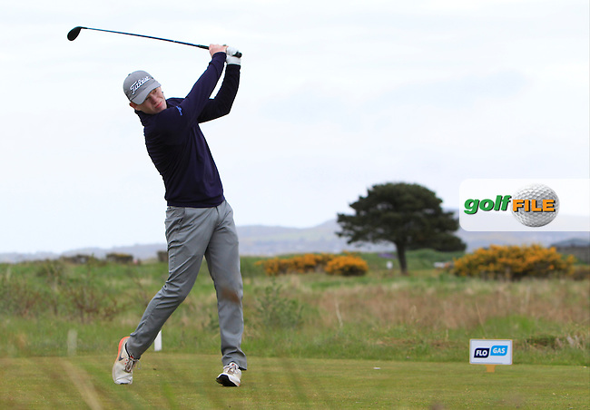 Robert Foley (SWI) on the 17th tee during Round 2 of the Flogas Irish Amateur Open Championship at Royal Dublin on Friday 6th May 2016.<br /> Picture:  Thos Caffrey / www.golffile.ie
