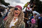 © Joel Goodman - 07973 332324 . 31 August 2013 . Rochdale , UK . Pulling the pirate ship . The Rochdale Feel Good Festival . Photo credit : Joel Goodman