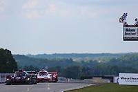 #55 Mazda Team Joest Mazda DPi, DPi: Jonathan Bomarito, Harry Tincknell, Checkered Flag