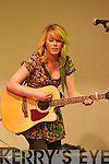 Anges Fitzgerald from The Fitzy Chicks preforms live on stage for The Brosna Varity Show last Friday night.
