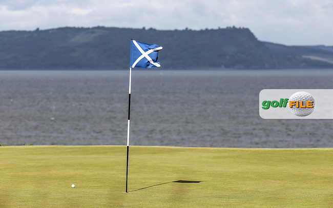 12th green during the First Round of the 2016 Aberdeen Asset Management Scottish Open, played at Castle Stuart Golf Club, Inverness, Scotland. 07/07/2016. Picture: David Lloyd   Golffile.<br /> <br /> All photos usage must carry mandatory copyright credit (&copy; Golffile   David Lloyd)