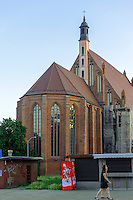 Johanniskirche (Sw.Jana) in Stettin (Szczecin), Woiwodschaft Westpommern (Wojew&oacute;dztwo zachodniopomorskie), Polen, Europa<br /> Church Sw.Jana in Szczecin, Poland, Europe