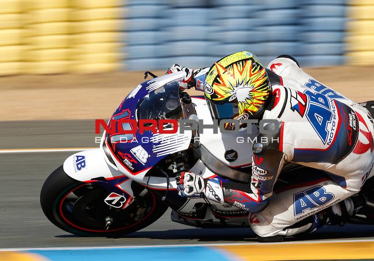 Monster Energy Grand Prix de France in Le Mans 14.-17.05.2015, Free Practice<br /> <br /> 17 Karel Abraham / Tschechien <br /> <br /> Foto &copy; nordphoto / FSA