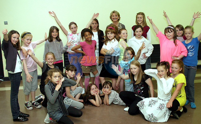 Summer Drama and Dance Performance in Marymount School...Photo NEWSFILE/Jenny Matthews.(Photo credit should read Jenny Matthews/NEWSFILE)....This Picture has been sent you under the condtions enclosed by:.Newsfile Ltd..The Studio,.Millmount Abbey,.Drogheda,.Co Meath..Ireland..Tel: +353(0)41-9871240.Fax: +353(0)41-9871260.GSM: +353(0)86-2500958.email: pictures@newsfile.ie.www.newsfile.ie.FTP: 193.120.102.198.