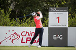 Golfer Chia-Pei Lee of Taiwan during the 2017 Hong Kong Ladies Open on June 9, 2017 in Hong Kong, China. Photo by Chris Wong / Power Sport Images