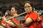 LAS VEGAS, NV - MARCH 7:  The Band during the Saint Mary's Gaels 69-55 win over the Portland Pilots in the WCC Basketball Tournament on March 7, 2010 at Orleans Arena in Las Vegas Nevada.