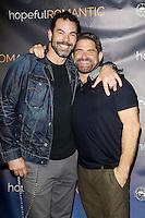 LOS ANGELES - NOV 9: Chuck Saculla, Matt Zarley at the special screening of Matt Zarley's 'hopefulROMANTIC' at the American Film Institute on November 9, 2014 in Los Angeles, California