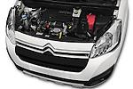 Car Stock 2016 Citroen BERLINGO-MULTISPACE XTR+ 5 Door Mini MPV Engine  high angle detail view