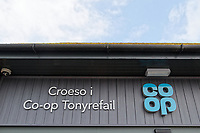 2018 06 01 Co op opening, Porth, Wales, UK