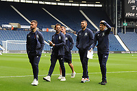 Blackburn Rovers' Adam Armstrong, Bradley Dack, Joe Rothwell, Bradley Johnson and John Buckley<br /> <br /> Photographer Kevin Barnes/CameraSport<br /> <br /> The EFL Sky Bet Championship - West Bromwich Albion v Blackburn Rovers - Saturday 31st August 2019 - The Hawthorns - West Bromwich<br /> <br /> World Copyright © 2019 CameraSport. All rights reserved. 43 Linden Ave. Countesthorpe. Leicester. England. LE8 5PG - Tel: +44 (0) 116 277 4147 - admin@camerasport.com - www.camerasport.com