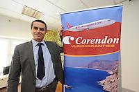 SCHAATSEN: BERLIJN: Holiday Inn, Persconferentie Team Op=Op, 09-03-2012, Team Corendon, Atilay Uslu (oprichter/directeur Corendon), ©foto Martin de Jong