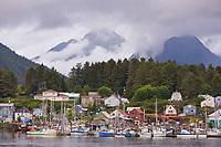 Commercial fishing vessels, Sitka Channel, Sitka, Alaska