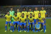 29th October 2019; Bezerrao Stadium, Brasilia, Distrito Federal, Brazil; FIFA U-17 World Cup Brazil 2019, Brazil versus New Zealand; Players of Brazil pose for official photo - Editorial Use