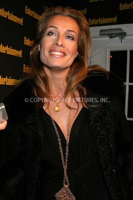 WWW.ACEPIXS.COM . . . . . ....NEW YORK, FEBRUARY 27, 2005....Frederique Van Der Wal at Entertainment Weekly's Academy Awards party at Elaine's.....Please byline: ACE009 - ACE PICTURES.. . . . . . ..Ace Pictures, Inc:  ..Philip Vaughan (646) 769-0430..e-mail: info@acepixs.com..web: http://www.acepixs.com