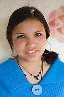 Nepal, Bandipur. Olga Murray and Nepal Youth Foundation children.