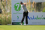 Nick Dougherty (ENG) in action on the 7th tee during Day 1 Thursday of the Open de Andalucia de Golf at Parador Golf Club Malaga 24th March 2011. (Photo Eoin Clarke/Golffile 2011)