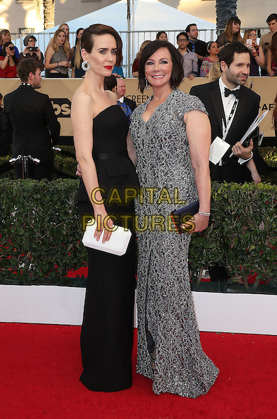 29 January 2017 - Los Angeles, California - Sarah Paulson, Marcia Clark. 23rd Annual Screen Actors Guild Awards held at The Shrine Expo Hall. <br /> CAP/ADM/FS<br /> &copy;FS/ADM/Capital Pictures