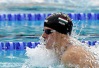 Hungary's Daniel Gyurta swims to win the gold medal in the Men's 200m Breaststroke final at the Swimming World Championships in Rome, 31 July 2009..UPDATE IMAGES PRESS/Riccardo De Luca