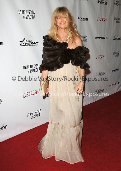 Goldie Hawn at the Living Legends of Aviation Awards held at The Beverly Hilton Hotel in Beverly Hills, California on January 22,2010                                                                   Copyright 2009  Debbie VanStory / RockinExposures