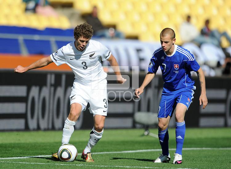Tony Lochhead of New Zealand and Vladimir Weiss of Slovakia