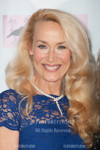 Jerry Hall arriving for the Amy Winehouse Foundation Dinner, London. 20/11/2013 Picture by: Dave Norton / Featureflash