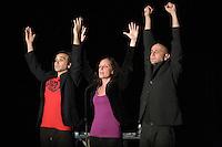 Festival des Petits Riens -.Compagnie de l'Uppercut : Sandra BECHTEL, Antoine FAURE -To- et Damien NOURY.
