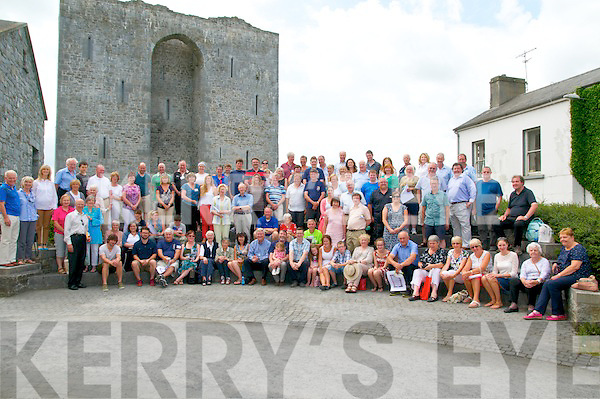 Stack Clan Gathering: Members of the Stack Clan pictured  at Listowel Castle on Sunday last.